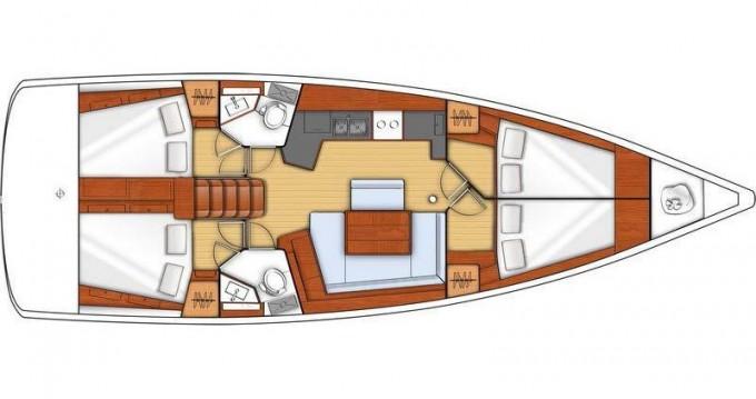 Location Voilier à Préveza - Bénéteau Oceanis 45