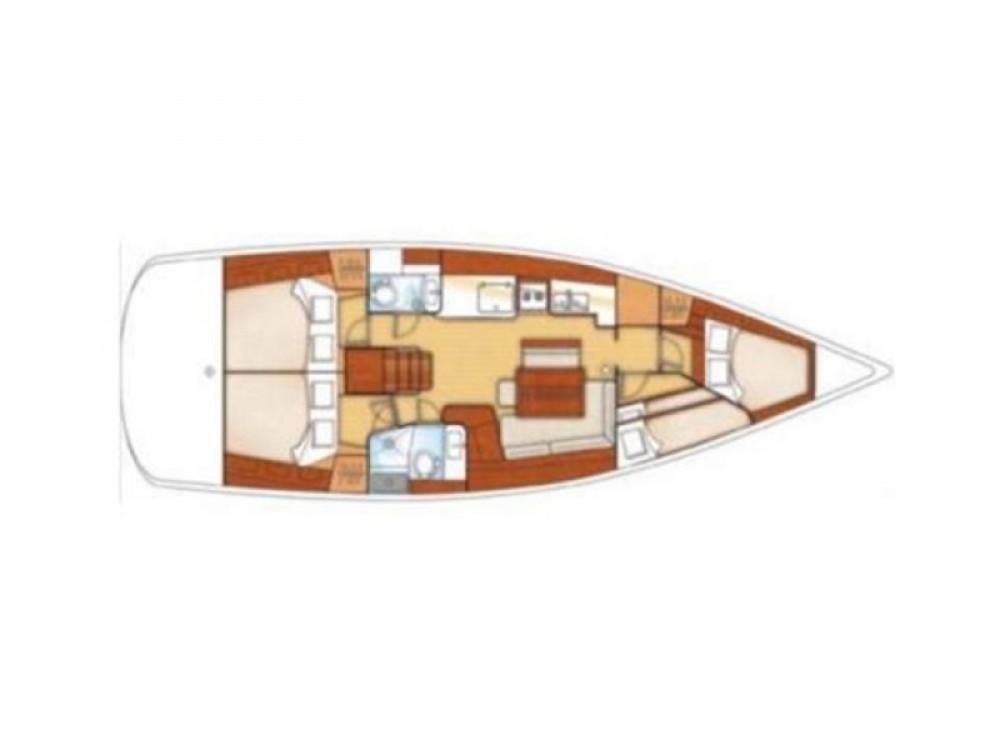 Location bateau Marina de Alimos pas cher Oceanis 46