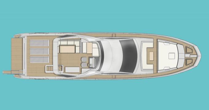 Location yacht à Sibenik - Azimut Azimut 72 Fly sur SamBoat