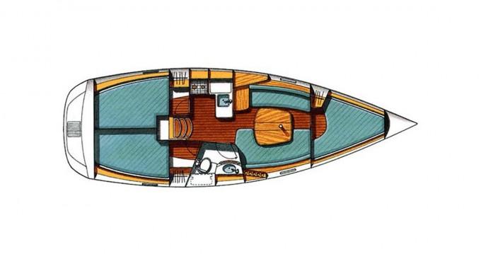 Location yacht à Lávrio - Bénéteau Oceanis 331 sur SamBoat