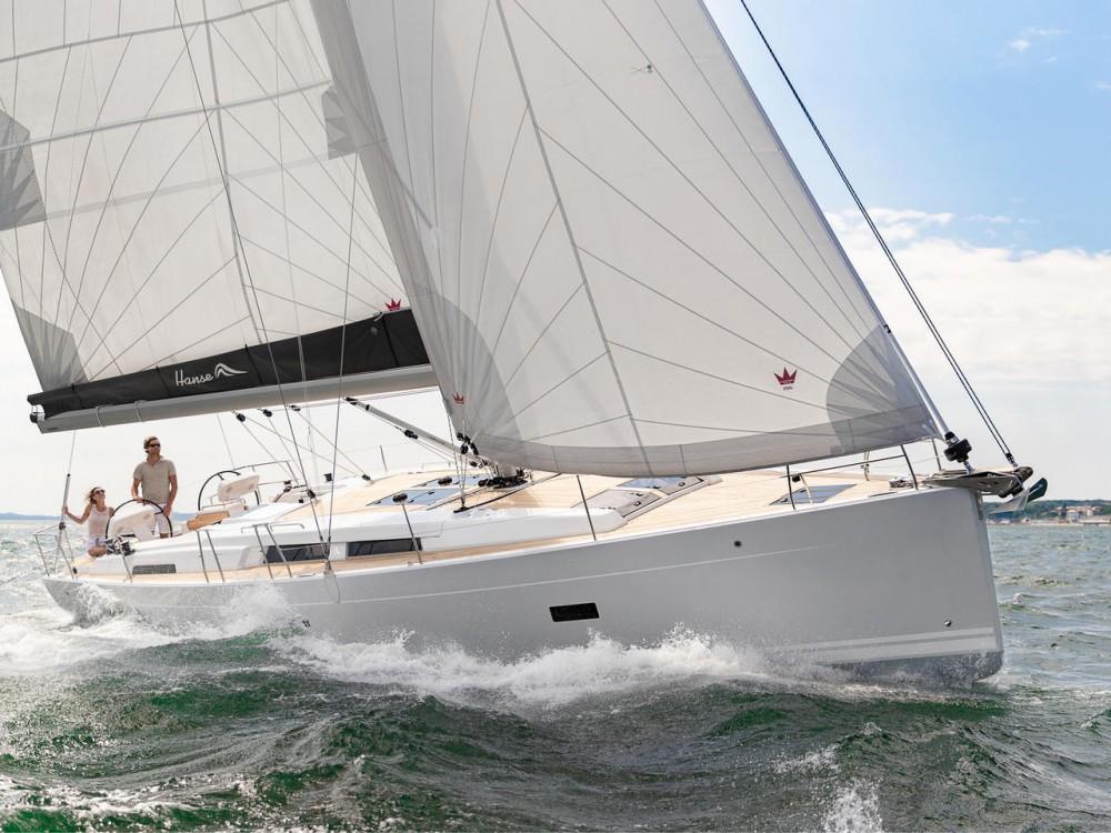 Location yacht à Olympic Marina - Hanse Hanse 458 sur SamBoat