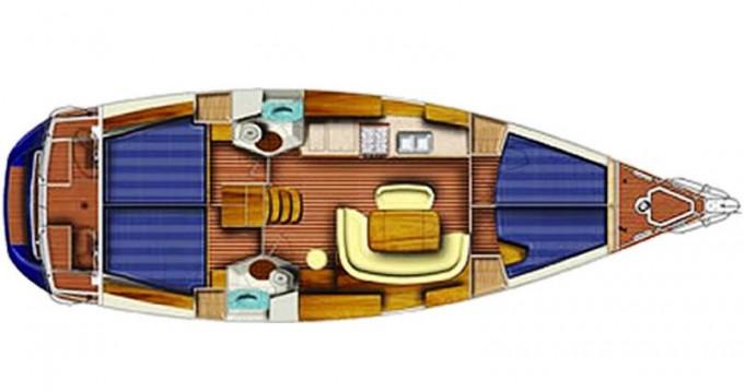 Location bateau Lávrio pas cher Sun Odyssey 45