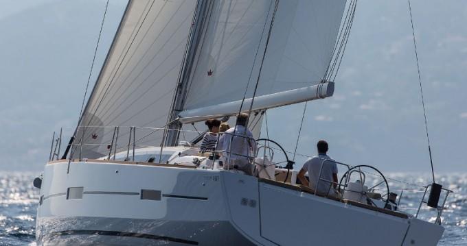 Location bateau Dufour Dufour 460 Grand Large à Lávrio sur Samboat