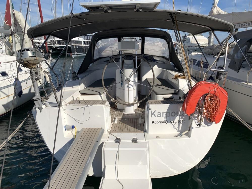 Location bateau Hanse Hanse 350 à Álimos sur Samboat