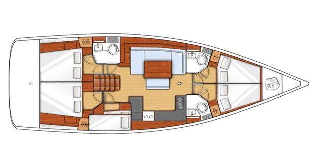 Location bateau Álimos pas cher Oceanis 48