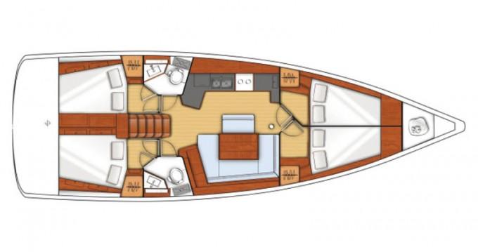 Location bateau Bénéteau Oceanis 45 à Lefkada (Île) sur Samboat