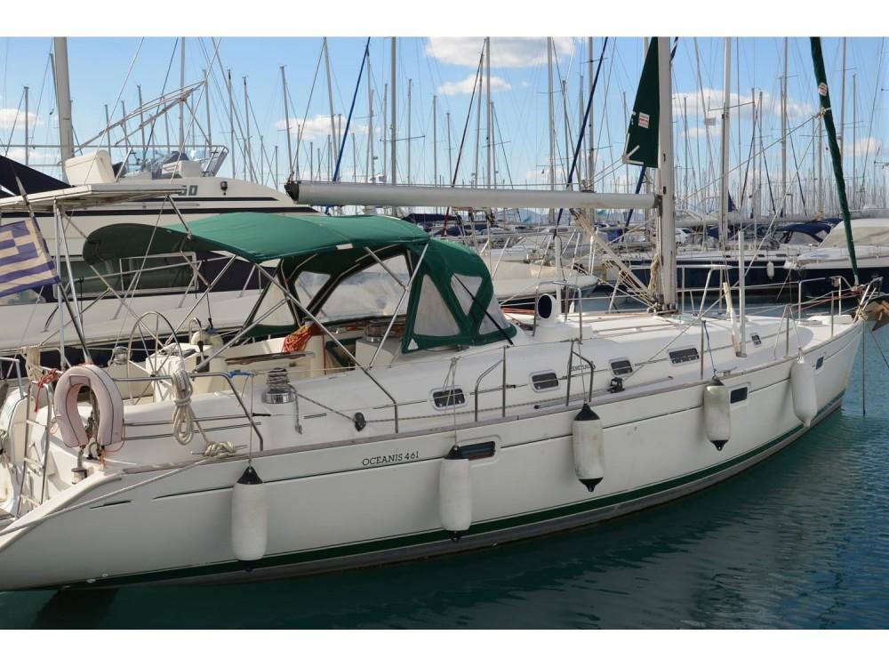Bénéteau Oceanis 461 entre particuliers et professionnel à Marina de Alimos