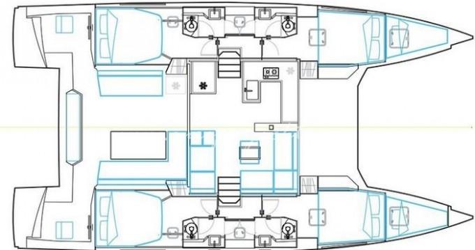 Location yacht à Álimos - Nautitech Nautitech 46 Fly sur SamBoat