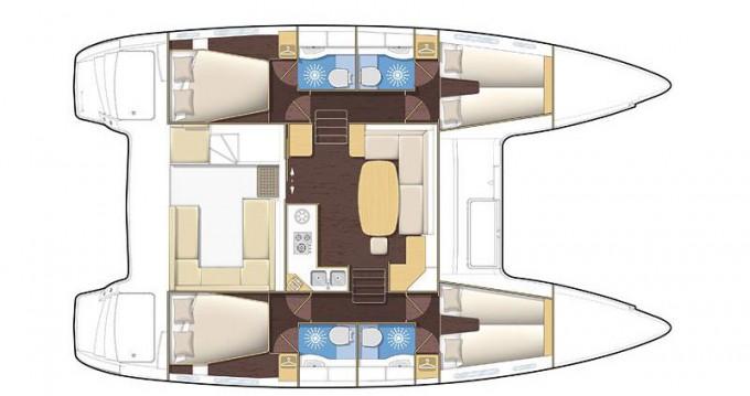 Location yacht à Rhodes - Lagoon Lagoon 400 sur SamBoat
