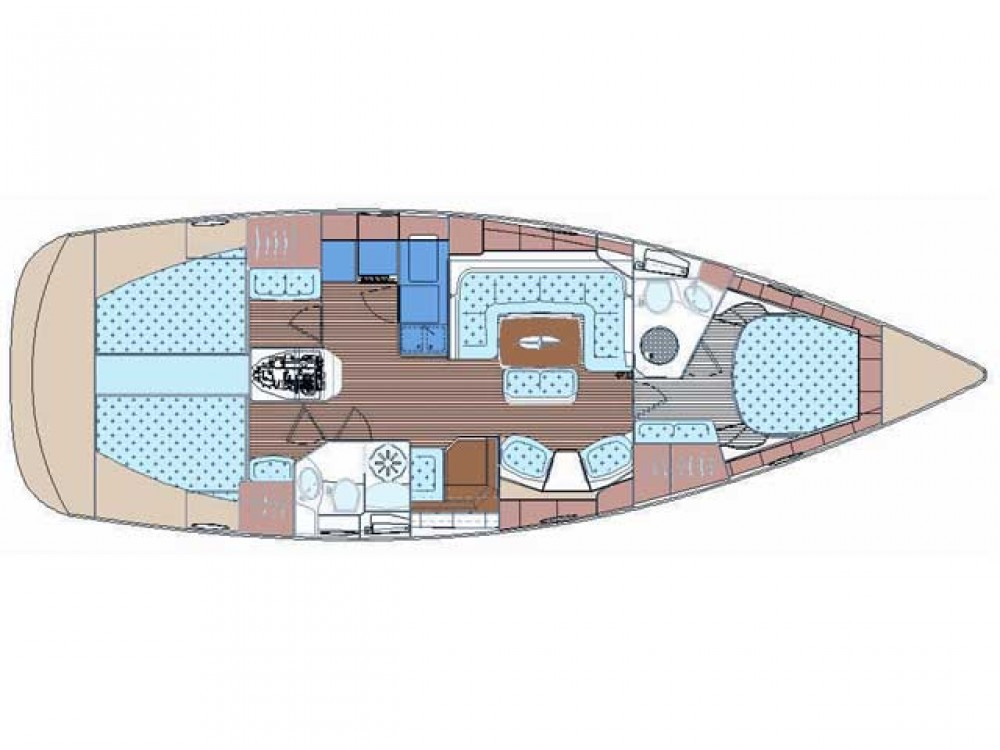 Location bateau Cos pas cher Bavaria 44 Vision