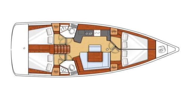 Location bateau Bénéteau Oceanis 45 à Kos sur Samboat
