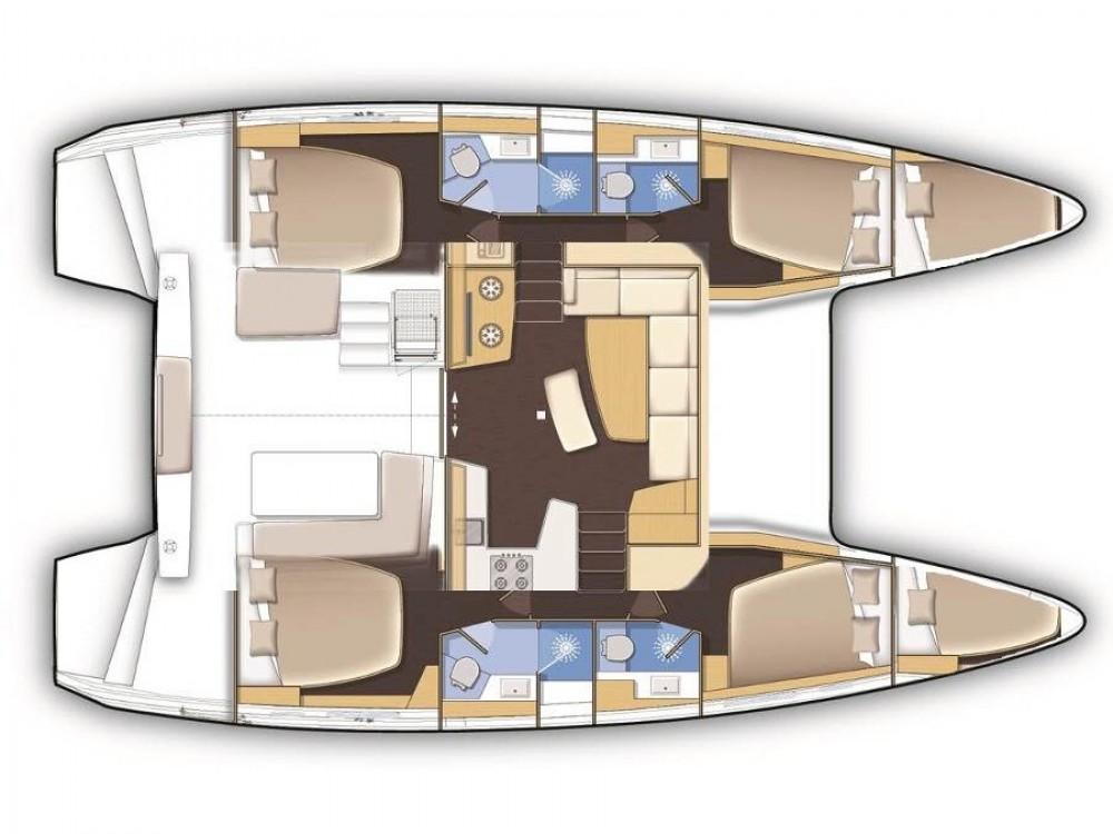 Louer Catamaran avec ou sans skipper Lagoon à Cos