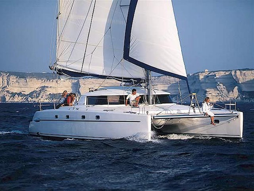 Location Catamaran à Leucade - Fountaine Pajot Belize 43