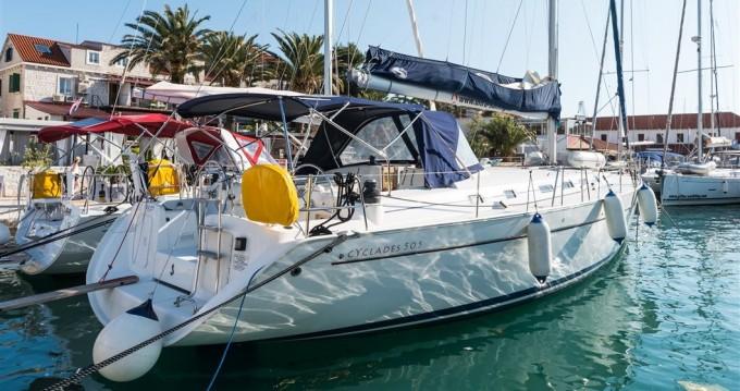 Location bateau Pomer pas cher Cyclades 50.5