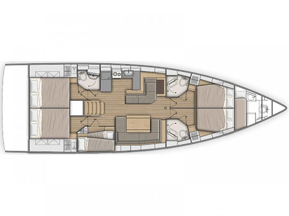 Location Voilier à Split - Bénéteau Oceanis 51.1