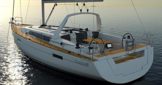 Location bateau Dubrovnik pas cher Oceanis 41.1