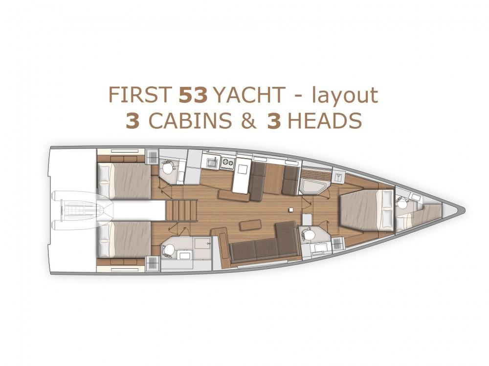 Louez un Bénéteau First Yacht 53 à Split