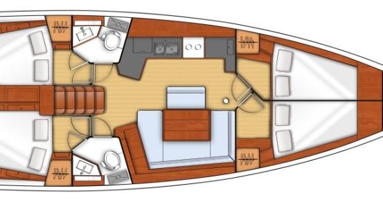 Location Voilier à Split - Bénéteau Oceanis 45