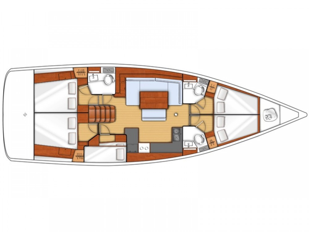 Location bateau Marina de Alimos pas cher Oceanis 48