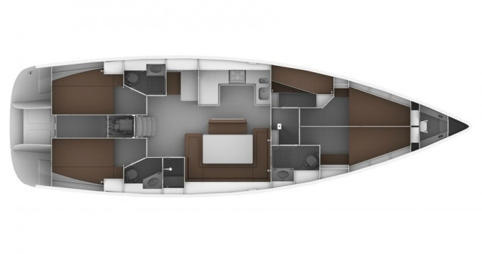 Location yacht à Mykonos (Île) - Bavaria Cruiser 50 sur SamBoat