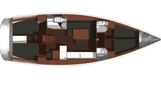 Location bateau Kaštel Gomilica pas cher Dufour 445 Grand Large