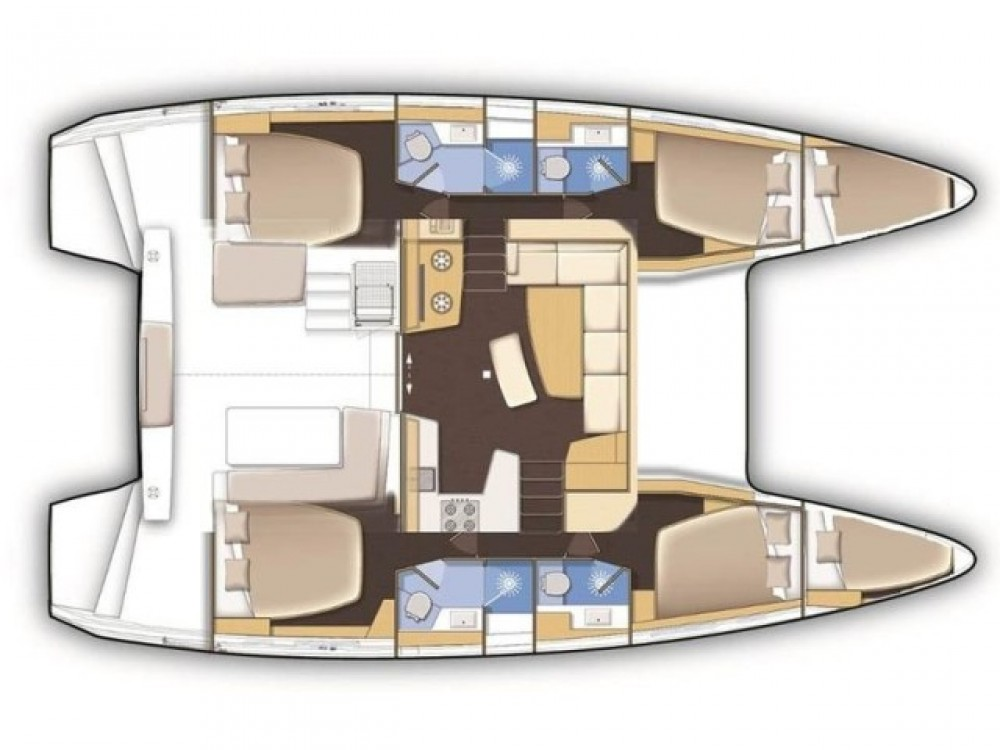Location yacht à Marina de Alimos - Lagoon Lagoon 42 sur SamBoat
