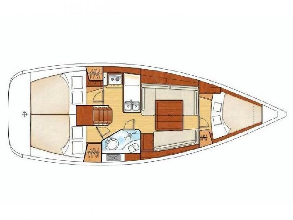 Location bateau Bénéteau Oceanis 343 à Álimos sur Samboat