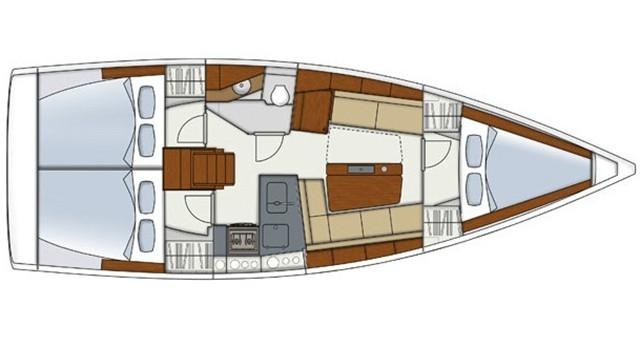 Location bateau Álimos pas cher Hanse 345
