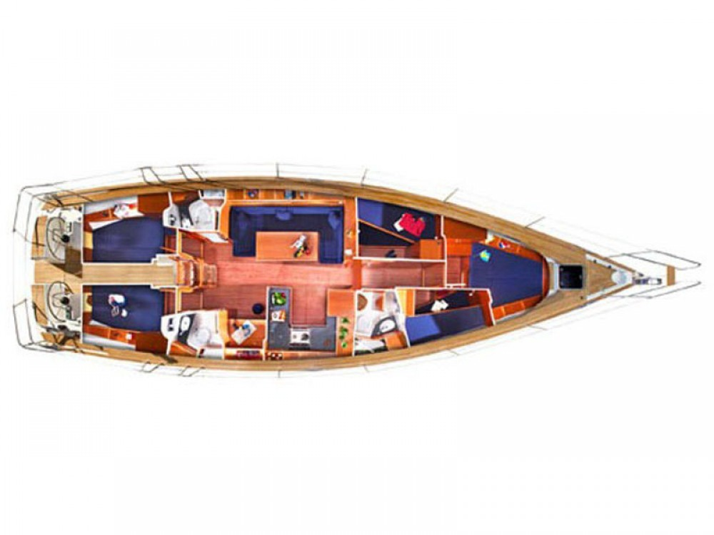 Location bateau Bavaria Bavaria 51 Cruiser à Cos sur Samboat