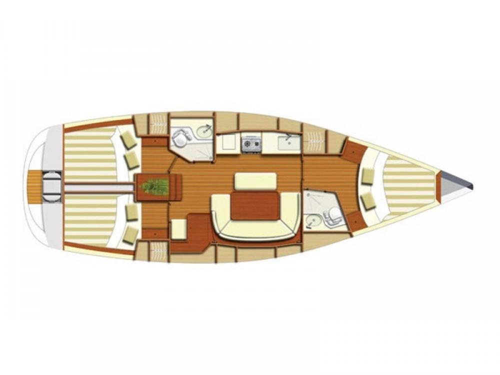 Location bateau Dufour Dufour 385 à Álimos sur Samboat