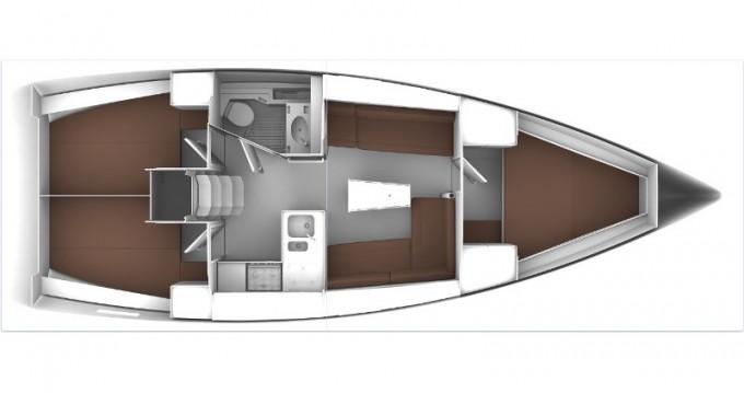 Bavaria Cruiser 37 entre particuliers et professionnel à Álimos