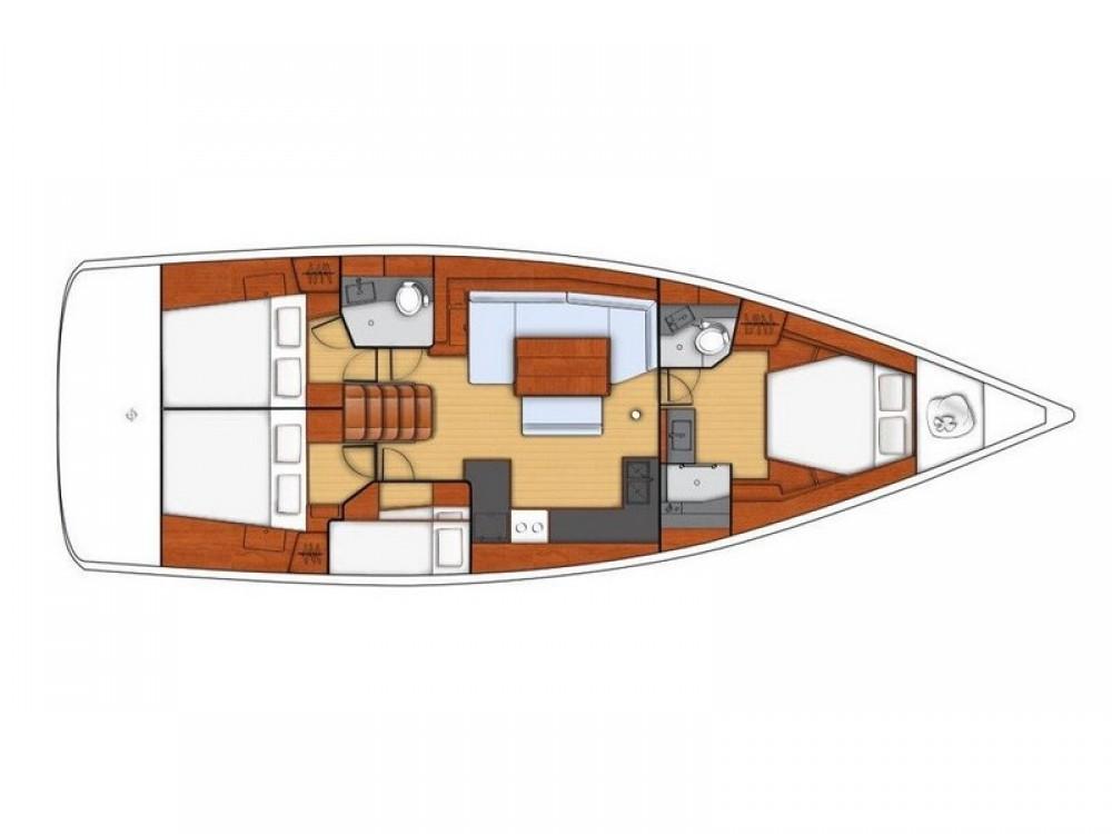 Location bateau Split pas cher Beneteau Oceanis 48