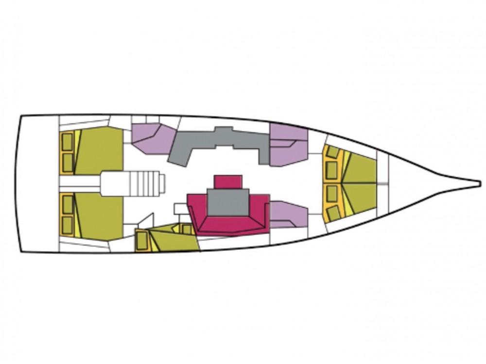 Location yacht à Castiglioncello - Bénéteau Oceanis 46.1 (5 cab) sur SamBoat