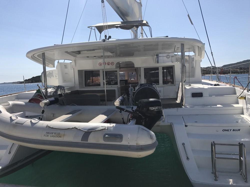 Location bateau Castiglioncello pas cher Lagoon 450F