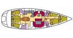 Jeanneau Sun Odyssey 54 DS entre particuliers et professionnel à Portisco