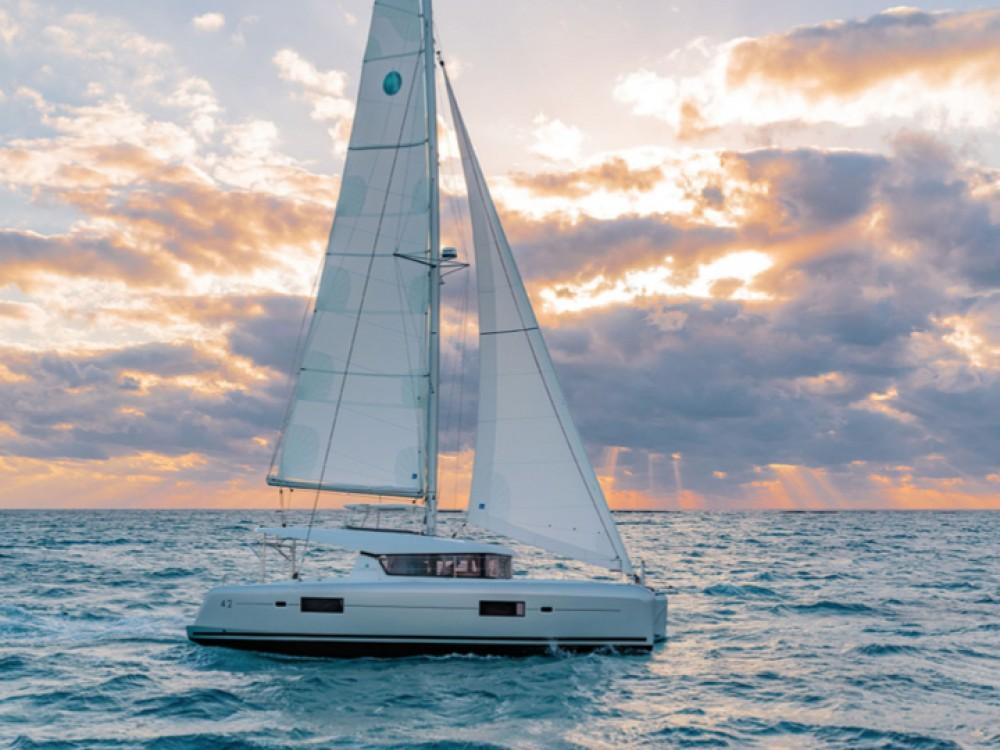 Louer Catamaran avec ou sans skipper Lagoon à