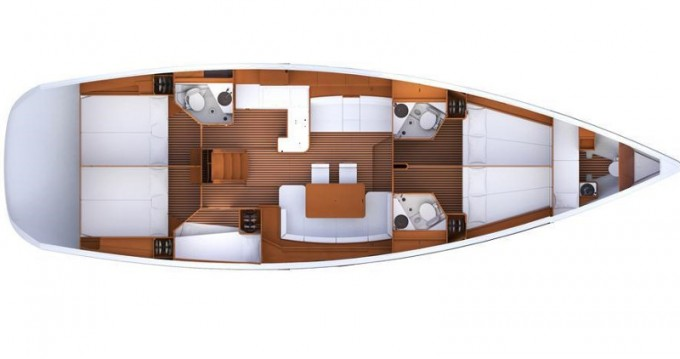Location bateau Jeanneau Jeanneau 53 à Kalkara sur Samboat
