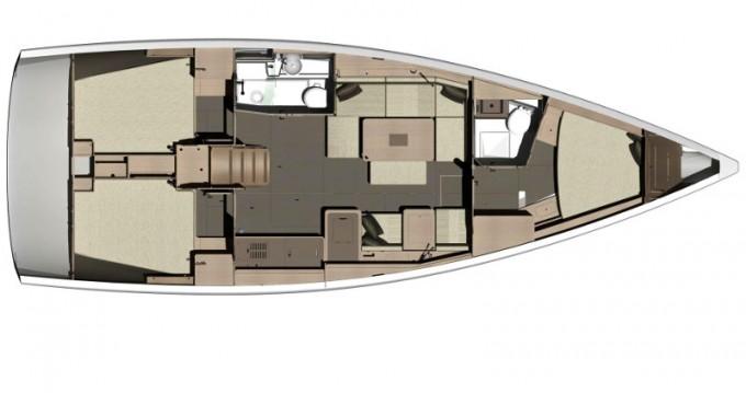Location bateau Veruda pas cher Dufour 412
