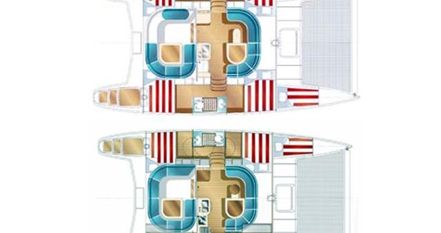 Location bateau Propriano pas cher Nautitech 40 Open