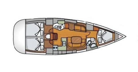 Location bateau Jeanneau Sun Odyssey 42i à Álimos sur Samboat