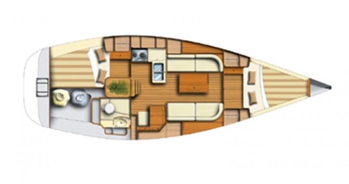 Location bateau Rhodes pas cher Dufour 34