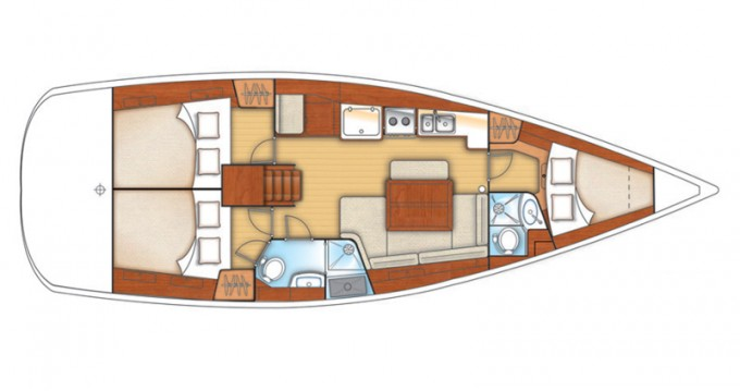 Location bateau Bénéteau Oceanis 40 à Kalkara sur Samboat