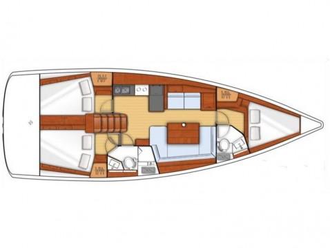 Location yacht à Gouviá - Bénéteau Oceanis 41 sur SamBoat