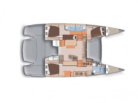 Louer Catamaran avec ou sans skipper Fountaine Pajot à Álimos
