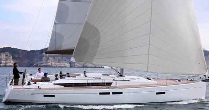 Location bateau Jeanneau Sun Odyssey 469 à Lefkada (Île) sur Samboat