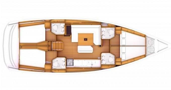 Louez un Jeanneau Sun Odyssey 469 à Lefkada (Île)
