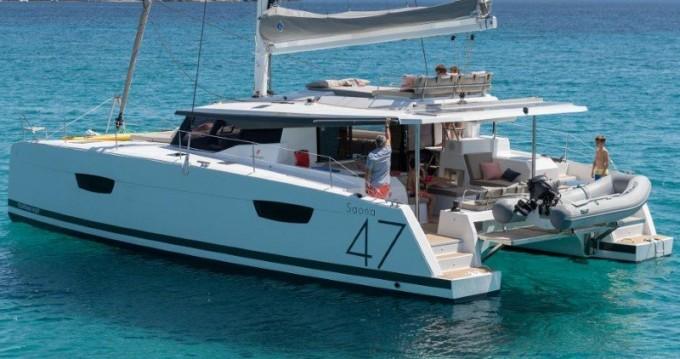 Location Catamaran à Álimos - Fountaine Pajot Saona 47