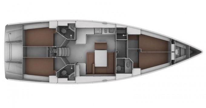 Bavaria Cruiser 45 entre particuliers et professionnel à Skiathos
