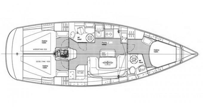 Location yacht à Lefkada (Île) - Bavaria Bavaria 39 Cruiser sur SamBoat