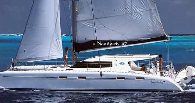 Louez un Nautitech Nautitech 47 à Gouviá